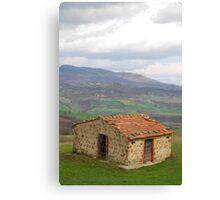 Hut in Tuscany  Canvas Print