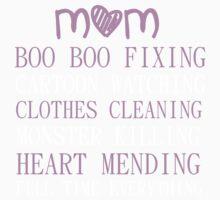 FULL TIME MOM Kids Tee