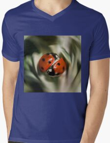 Whirly Bugs Mens V-Neck T-Shirt