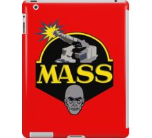 M.A.S.S. The Ultimate Weapon iPad Case/Skin
