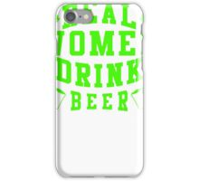 Real Women Drinking Beer iPhone Case/Skin