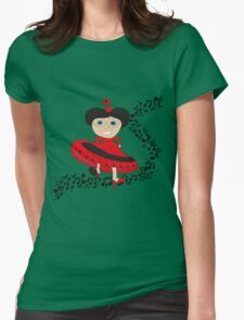 Happy lady  T-Shirt