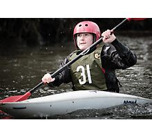 S&S Canoe Club | Div 3&4 Slalom | March 2015 | 067 Photographic Print