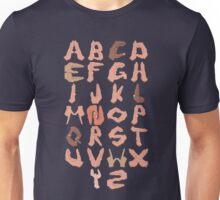Alphabet with Hands Unisex T-Shirt