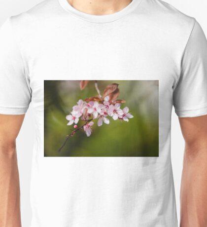 Pink Apple Blossom Unisex T-Shirt
