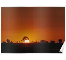 Big Western Sun © Vicki Ferrari Poster