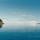 Coral Sea Glass Whitsunday Passage © Vicki Ferrari by Vicki Ferrari