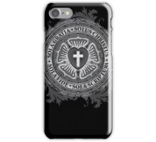 Luther Rose Christian Poster iPhone Case/Skin