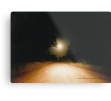 Moonrise on Melrose © Vicki Ferrari Metal Print