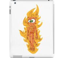 cat torch II iPad Case/Skin