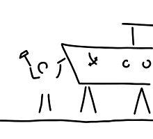 boat builder navigate dry dock by lineamentum