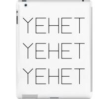 EXO YEHET Baseball T-Shirt iPad Case/Skin