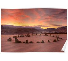 Castle Rigg Stone Circle Poster