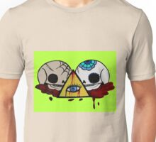 All Seeing Skulls Unisex T-Shirt