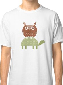 owl and turtle Classic T-Shirt
