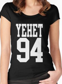 EXO - Oh Sehun Yehet Merch Women's Fitted Scoop T-Shirt
