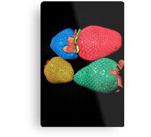 Colors WOW strawberry  Metal Print