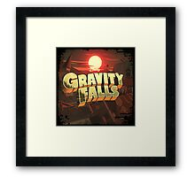 """Gravity Falls - """"The End Times""""  Framed Print"""