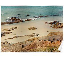 Pebbly Beach © Vicki Ferrari Photography Poster