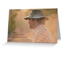 Marlboro Man © Vicki Ferrari Photography Greeting Card