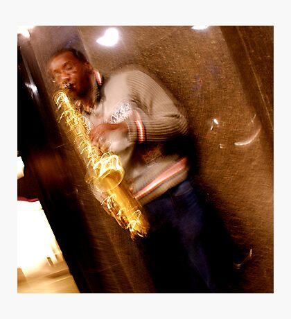 Trumpet (HDR) Photographic Print