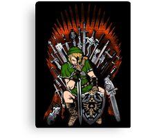 Zelda Game Of Thrones Canvas Print