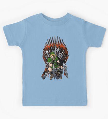 Zelda Game Of Thrones Kids Tee