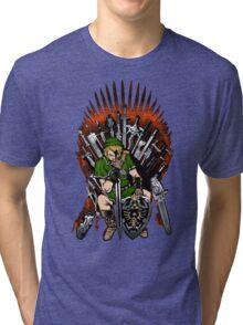 Zelda Game Of Thrones Tri-blend T-Shirt