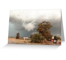 Albert Rain Storm © Vicki Ferrari Photography Greeting Card