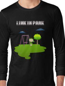 Zelda Link In Park Long Sleeve T-Shirt