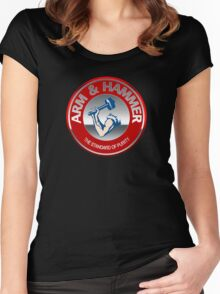 Arm & Hammer Women's Fitted Scoop T-Shirt