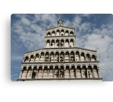 Lucca, Italy church Canvas Print