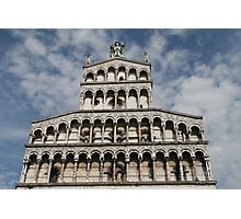 Lucca, Italy church Photographic Print
