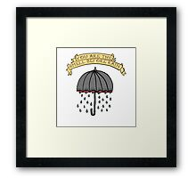 You are the smell before rain Framed Print