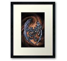 Minigun Guitar 002 Framed Print