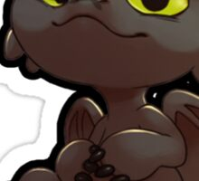 Chibi toothless ! Sticker