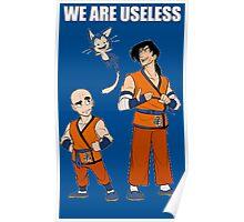 Krillin & Yamcha are useless Poster