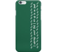 I solemnly swear   iPhone Case/Skin