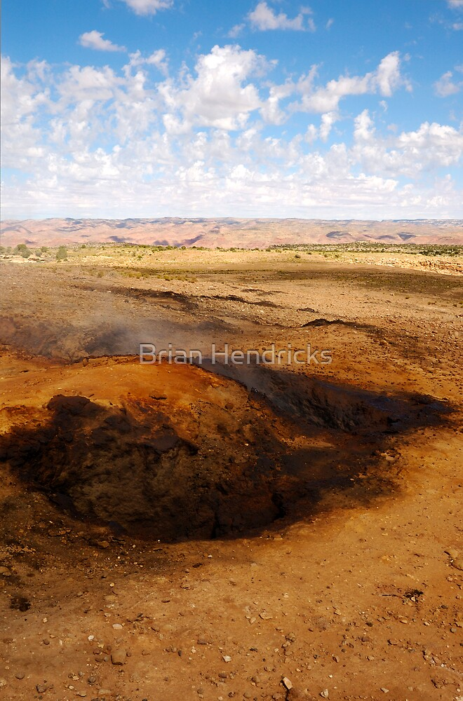The burning hills by Brian Hendricks