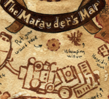 Marauders Map Sticker
