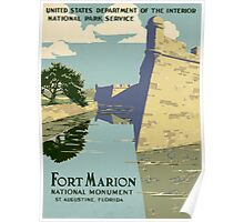Fort Marion National Monument Poster
