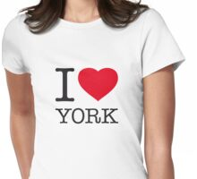 I ♥ YORK Womens Fitted T-Shirt