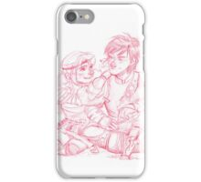 Astrid and Hiccup iPhone Case/Skin