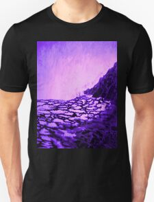Blue Sea Ice T-Shirt