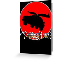 ThunderHawk Ho! Greeting Card