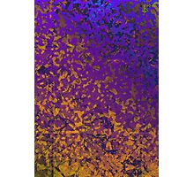 Colorful Corroded Background Photographic Print