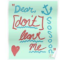 """Dear"" Poster"