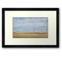 Prairie Power Framed Print