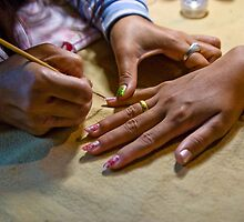 Nail painting by Cvail73