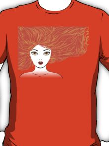 Girl with red hair T-Shirt